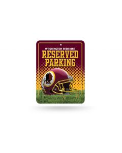 NFL Washington Redskins Metal Parking Sign