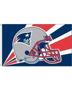NFL New England Patriots Flag - Helmet 3X5