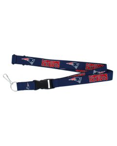 NFL New England Patriots Lanyard - Blue