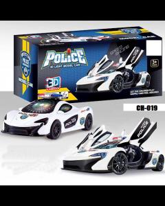 Police 3D Car CH-019
