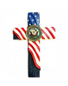 Texas Decor - Poly United States Navy Cross C60185