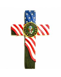 Texas Decor - Poly United States Army Cross XF-R0072