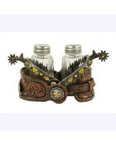 Texas Decor - Poly Spur Salt & Pepper Holder XF-S0005