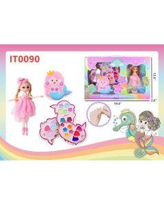 Rainbow Mermaid w/Doll IT0090