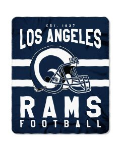 NFL Los Angeles Rams Fleece Blanket 50''X60""