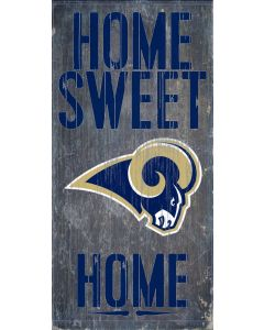 NFL Los Angeles Rams Home Sweet Home Sign