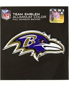 NFL Baltimore Ravens Auto Emblem - Color