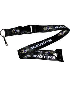 NFL Baltimore Ravens Lanyard - Black
