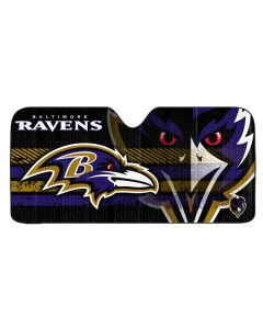 NFL Baltimore Ravens Auto / Car Sunshade