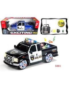 R/C Police Pickup Truck 5881