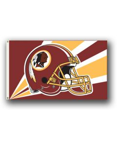NFL Washington Redskins Helmet Flag 3' X 5'