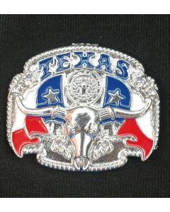 Magnet - Texas Bull Metal