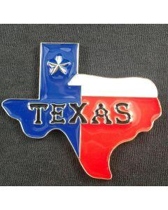Magnet - Texas Map Metal