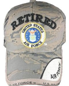 United States Air Force RETIRED Hat With Seal Digital Camo