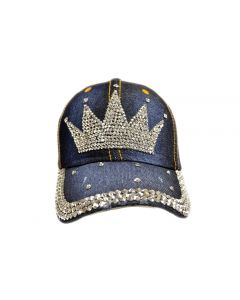 Cap - Rhinestone - Crown 18462