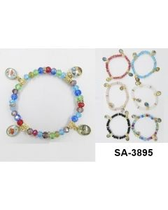 Bracelet - Guadalupe SA-3895 SOLD BY THE DOZEN