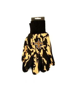 NFL New Orleans Saints Sports Utility Gloves - Camo