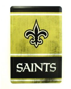 NFL New Orleans Saints Tin Sign