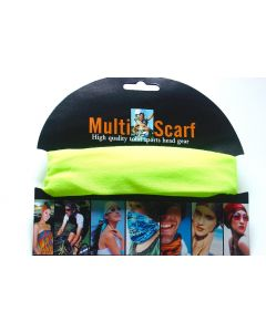 Multi Purpose Scarf HOT-2219 Neon ONLY SOLD BY THE DOZEN