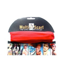 Multi Purpose Scarf HOT-2139 Solid ONLY SOLD BY THE DOZEN