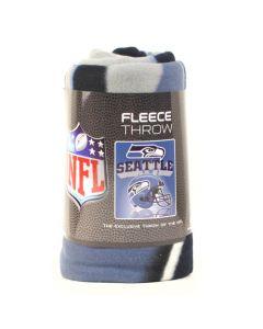NFL Seattle Seahawks Fleece Throw Blanket