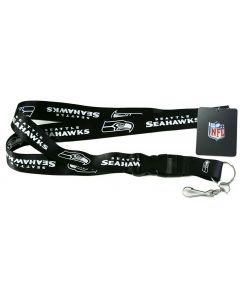 NFL Seattle Seahawks Blackout Lanyard
