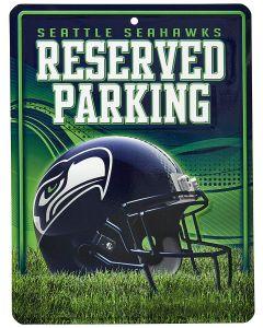 NFL Seattle Seahawks Metal Parking Sign