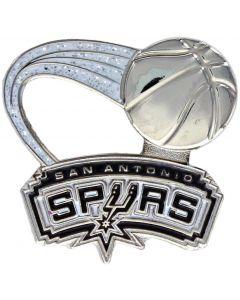 NBA San Antonio Spurs Pin - Glitter Trail Ball