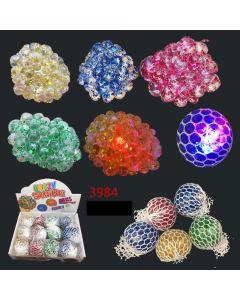 Crazy Squib Ball Glitter/Light 3984 SOLD BY DOZEN