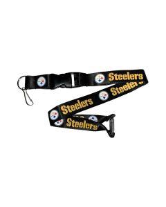 NFL Pittsburgh Steelers Lanyard - Black