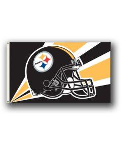 NFL Pittsburgh Steelers Helmet Flag 3' X 5'