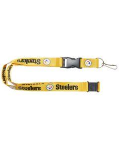 NFL Pittsburgh Steelers Lanyard - Gold