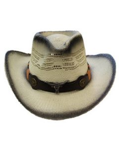 Straw Hat - 3630D Longhorn