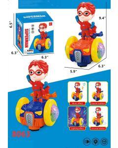 Superman Spinning Car 8063
