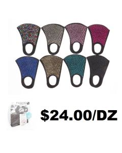 Face Mask - Bling SOLD BY THE DOZEN