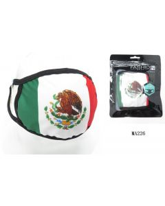 Face Mask - Cotton MEXICO FLAG SOLD BY THE DOZEN