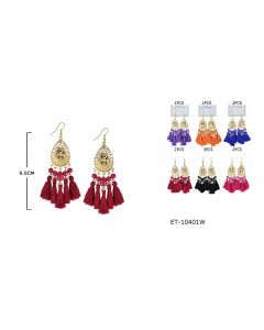 Earring - Frida ET-10201W SOLD BY THE DOZEN