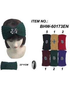 Head Wrap - Stone BHW60173EN SOLD BY DOZEN