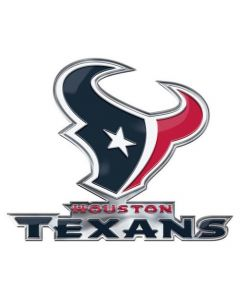 NFL Houston Texans NEW Auto Emblem - Color