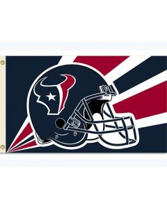NFL Houston Texans Flag - Helmet 3 x 5