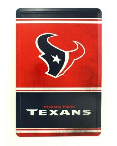 NFL Houston Texans Tin Sign