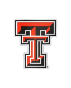 NCAA Texas Tech - Red Raiders Auto Emblem - Color