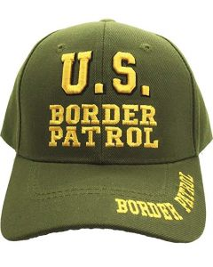 United States Border Patrol Hat P16BOR04-OLV