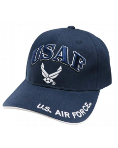 United States Air Force Hat - USAF with Wings - A04AIA04 Navy Blue