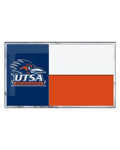 NCAA UTSA State Flag Auto Emblem