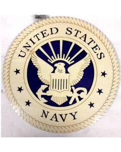United States Navy Wood Plaque