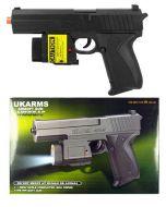 Airsoft Gun - M555AF w/Laser&Flashlight