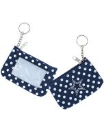 NFL Dallas Cowboys Coin Purse with Keychain