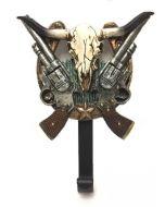 Texas Decor - Poly Longhorn/Gun Hook XF-R0045