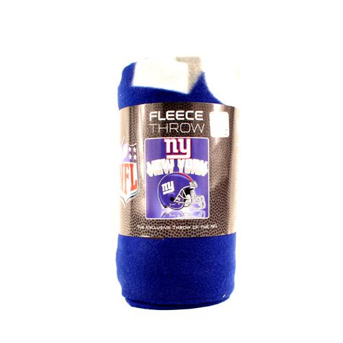 NFL NEW York Giants Fleece Throw Blanket